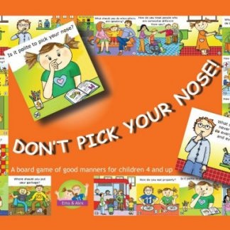 Don't pick your nose! A board game of good manners