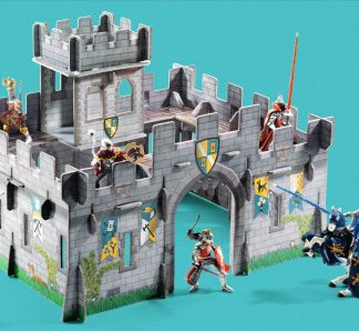 3D kartonová skládačka - Středověký hrad