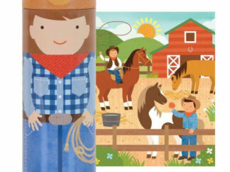 Petitcollage - Puzzle v tubě - Na ranči