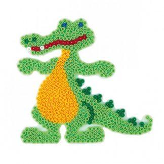 Hama Midi - podložka krokodýl