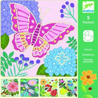 Kreslící šablony -  Zahradní křídla
