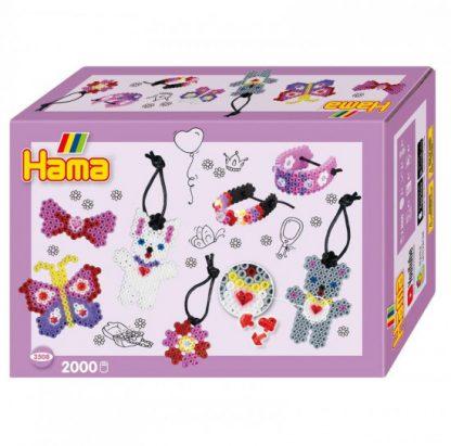 Hama Midi -  malý svět - módní doplňky - 2000 ks