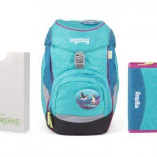 Školní set Ergobag prime Tropical - batoh + penál + desky