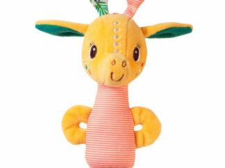 Lilliputiens - žirafa Zia - malé chrastítko