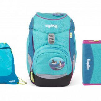 Školní set Ergobag prime Tropical - batoh + penál + sportovní pytel