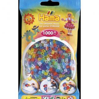 Hama Midi - korálky třpytivé 1000 ks