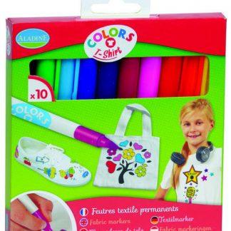 Fixy na textil - 10 ks