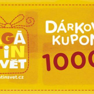 Agátin dárkový kupón: 1000 Kč