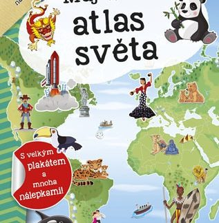 Můj atlas světa + plakát a samolepky