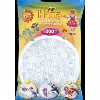 Hama Midi - korálky čiré 1000 Ks
