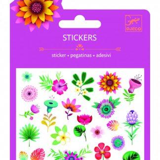 Mini samolepky - tropické květiny