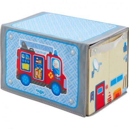 Hrací a úložný box - hasiči