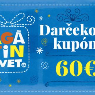Agátin darčekový kupón: 60 EUR