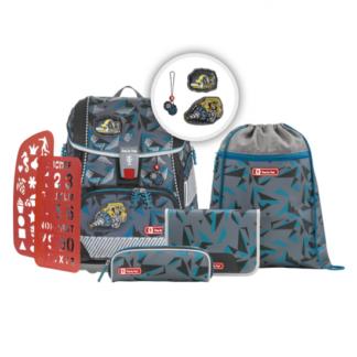 Školní aktovka/batoh 2V1 pro prvňáčky – 6-dílný set