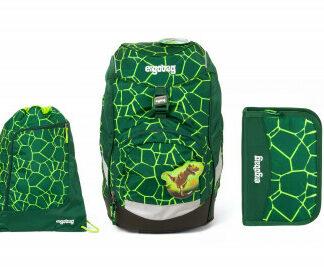 Školní set Ergobag prime Rex 2020 - batoh + penál + sportovní pytel