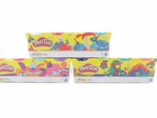 Play-Doh Balení 4 tuby - bílá