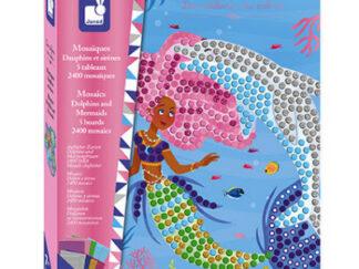 Dětský ateliér maxi - mozaika -  delfíni a mořské panny