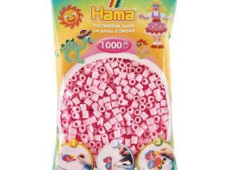 Hama Midi - korálky světle růžové 1000 ks