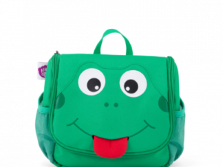 Dětská kosmetická taštička Affenzahn Frog - Green