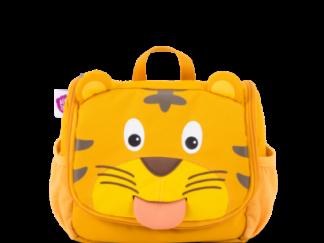 Dětská kosmetická taštička Affenzahn Tiger - Yellow