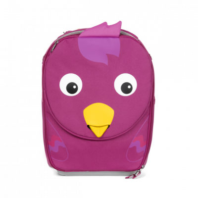 Dětský cestovní kufřík Affenzahn Bird - Purple