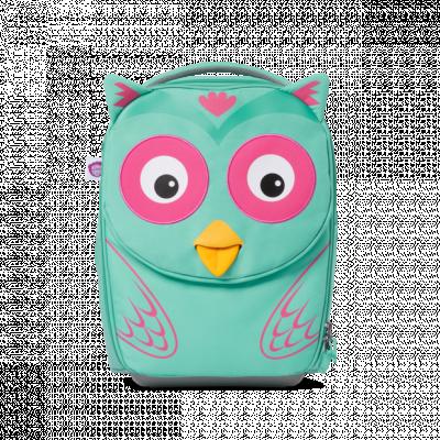 Dětský cestovní kufřík Affenzahn Owl - Turquoise