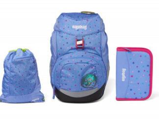 Školní set Ergobag prime - Magical blue - batoh + penál + sportovní pytel