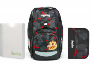 Školní set Ergobag prime - Taekwondo -batoh + penál + desky